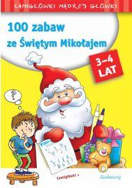 100 zabaw ze Świętym Mikołajem - okładka