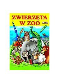 Edukablok. Zwierzęta w ZOO dla dzieci 3-4 lat