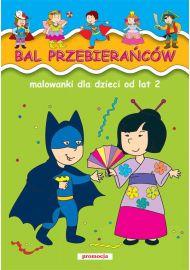 Malowanki - Bal przebierańców - okładka