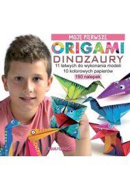 Moje pierwsze origami. Dinozaury