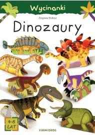 Dinozaury. Wycinanki