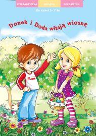 Doda i Donek witają wiosnę - okładka