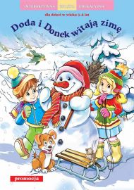 Doda i Donek witają zimę - okładka