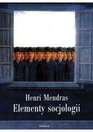 Elementy socjologii - okładka