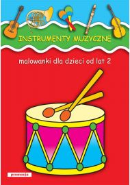 Malowanki - Instrumenty muzyczne - okładka