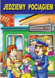 Jedziemy pociągiem - okładka
