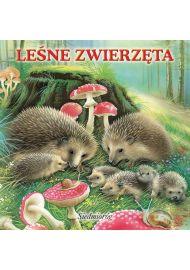 Wesołe książeczki - Leśne zwierzęta - okładka