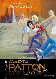 Marta Patton i Złoty Papirus - okładka