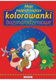 Moje najpiękniejsze kolorowanki Bożonarodzeniowe - okładka