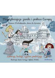 Najpiękniejsze zamki i pałace Europy - okładka