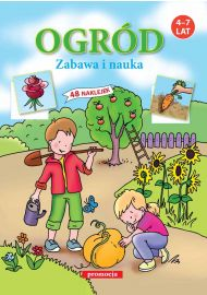 Naklejanki Ogród - okładka