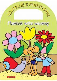 Plastuś wita wiosnę - okładka