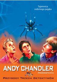 Tajemnica srebrnego pająka - okładka