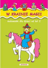 Malowanki - W krainie magii - okładka