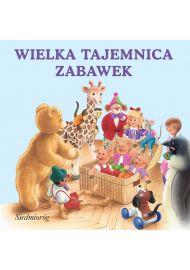 Wesołe książeczki - Wielka tajemnica zabawek - okładka