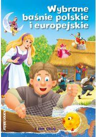 Wybrane baśnie polskie i europejskie (kolor)