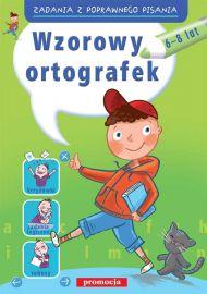 Wzorowy ortografek - okładka