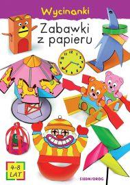 Zabawki z papieru. Wycinanki