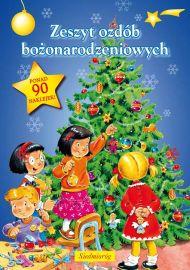 Zeszyt ozdób bożonarodzeniowych - okładka