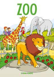 Zoo. Kolorowanka edukacyjna